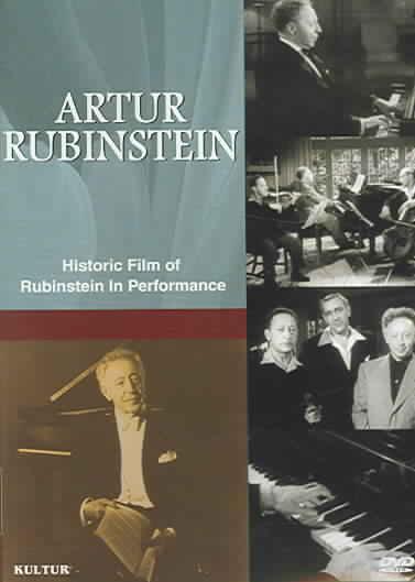 ARTUR RUBINSTEIN BY RUBINSTEIN,ARTUR (DVD)